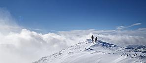 Scotland, Glencoe, Stob Dearg, mountaineering in winter - ALRF000491