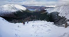 Scotland, Glencoe, Beinn a'Bheithir,  mountaineering in winter - ALRF000497