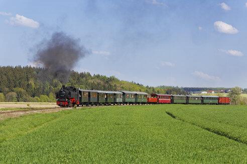 Germany, Upper Swabia, Oechsle Narrow Gauge Railway - SIE007025