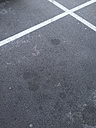Street  surface with white crossing lines - BZF000295