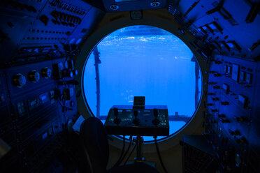 Cockpit of a submarine - NG000326