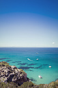 Spain, Formentera, Mediterranean Sea, View from Cami de Sa Pujada - CMF000459
