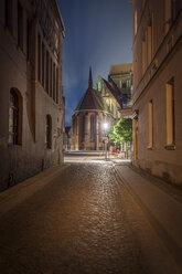 Germany, Brandenburg, Perleberg, Church in the historic old town - NKF000461