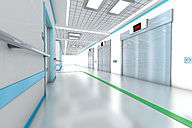 3D rendered illustration, architecture visualization of a modern hospital - SPCF000077