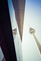 Germany, Berlin, television tower - CMF000462