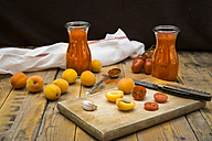 Ingredients for homemade apricot ketchup - LVF004937