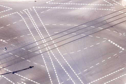 Germany, Berlin, view of crossroads seen from above - CMF000471