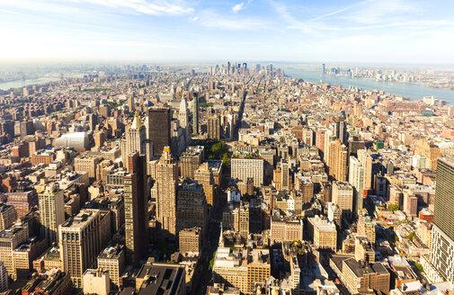 USA, New York, New York City, Manhattan, cityscape - JLRF000055
