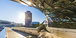 Germany, Munich, Discovery Centre and office tower in the background - WD003658