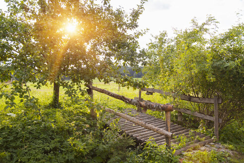 Germany, Bavaria, bridge over brook - HSIF000451