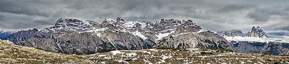 Italy, Alto Adige, Sexten Dolomites, Hochpuster Valley, Nature park Tre Cime, Tre Cime di Lavaredo - STSF001034