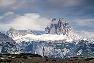 Italy, Alto Adige, Sexten Dolomites, Hochpuster Valley, Tre Cime di Lavaredo, Nature park Tre Cime - STSF001040