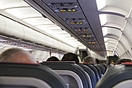 Seats of the passenger cabin of a airplane - ABZ000689