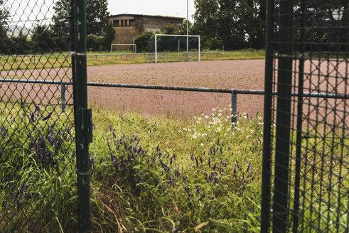 Empty soccer field - UUF007682