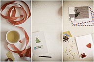 Christmas cards, writing, tinkering - CMF000485