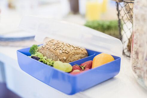 Lunch box with healthy food - MJF001893