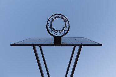 Basketball hoop, low angle view - SKAF000020