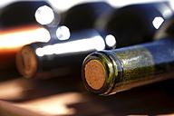 Row of wine bottles - JTF000760