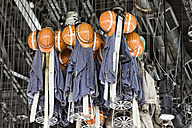 Working clothes hanging in pit - KLR000411
