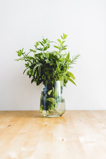 Mint plant in vase - FMOF000058