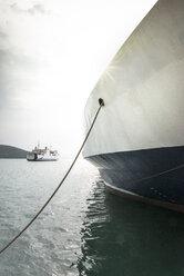 Greece, Igoumenitsa, moored ferry - DEGF000883