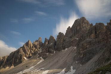 Italy, Sexten Dolomites, Nature Park Tre Cime, Paternkofel - MKFF000291