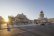 Germany, Berlin, view to Gendarmenmarkt in the evening - PVCF000852