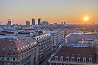 Germany, Berlin, elevated city view at sunset - PVCF000858