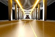 Futuristic room, 3D Rendering - SPCF000084