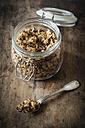 Homemade crunchy muesli, oat, amaranth and linseed - EVGF002990