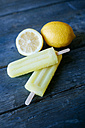 Lemon Snow Ice Cream with lemons - KIJF000510