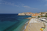 Croatia, Dubrovnik, Old town with city wall - GFF000652