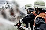 Fire brigade extinguishing fire - MAEF011872