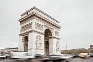 France, Paris, Arc de Triomphe - ZEDF000210
