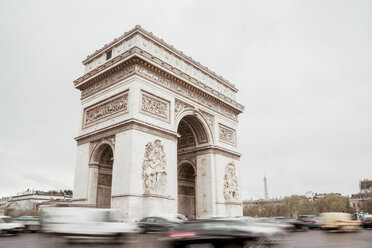 France, Paris, Arc de Triomphe - ZEDF000210