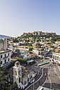 Greece, Athens, Monasteraki Square and Acropolis in the background - THAF001614