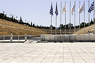 Greece, Athens, Panathenaic Stadium - THA001623
