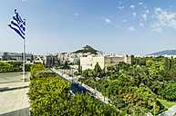 Greece, Athens, View of Parliament building - THAF001632