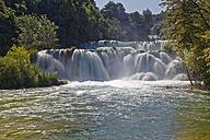 Croatia, Dalmatia, Sibenik-Knin, Krka National Park, Skradinski buk, Waterfall - GFF000704