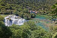 Croatia, Dalmatia, Sibenik-Knin, Krka National Park, Skradinski buk, Waterfall - GFF000707