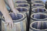 Cooperage, cooper and wine barrels - ZEF009155