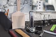 Combs and razor in barbershop - ZEF009215