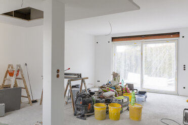 Construction site of a house - SHKF000621