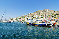 Greece, Hydra, port entrance - THAF001656