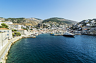 Greece, Hydra, view to the harbour - THAF001671