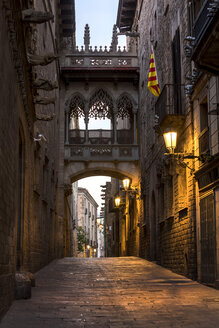 Spain, Barcelona, Barri Gotic - YRF000119