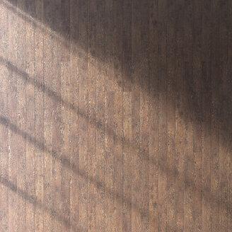 Wooden floor seen from above, 3D Rendering - UWF000935