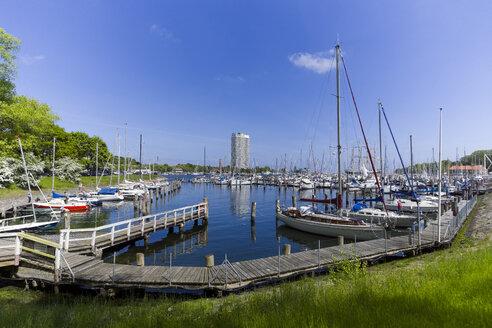 Germany, Schleswig-Holstein, Travemuende, Priwall harbour - KLR000450