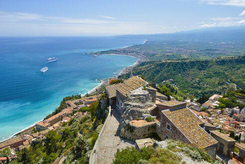 Sicily, Taormina, Santuario Madonna della Rocca - RJF000612