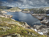 Norway, Forsand, Lake Andersvatnet - STSF001051